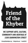 """Click here to download a """"Friend of the Khyber Sign."""" Post it and tag it #sotk2015"""